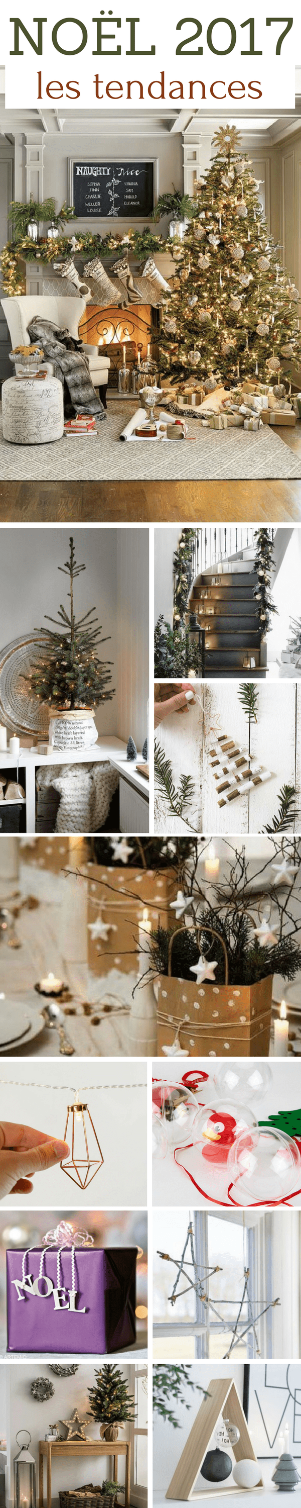 noel 2018 decoration Tendance Noël 2018 : Déco, Couleurs, Sapins, Table de Noël  noel 2018 decoration