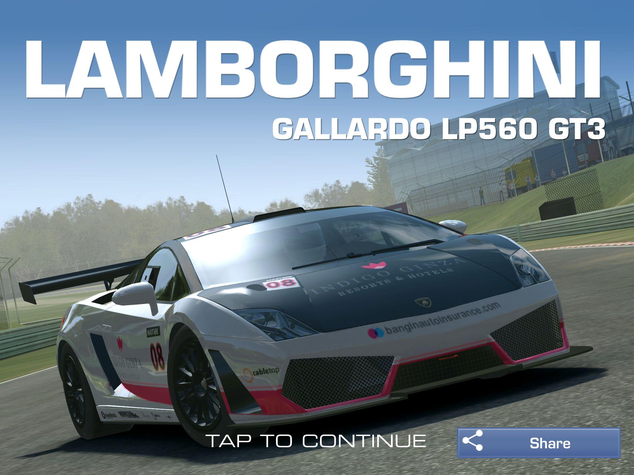Lamborghini Galardo LP560 GT3