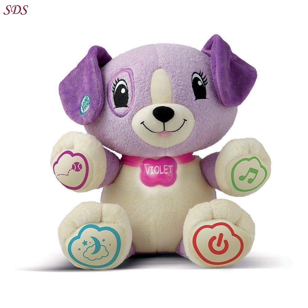 My Pal Violet Leapfrog Plush Leap Frog Toy Interactive Dog