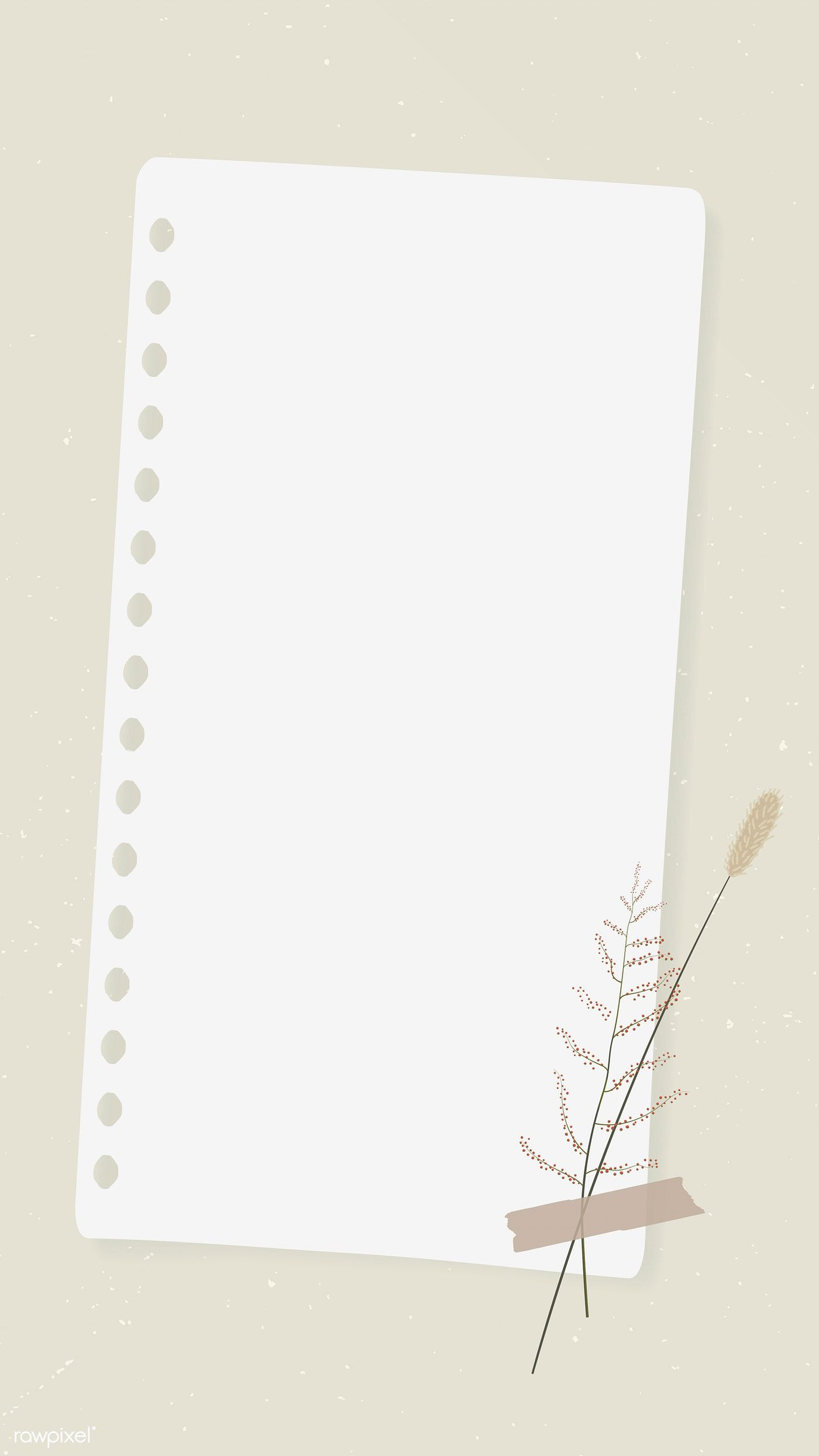 Download Premium Vector Of Vintage Design On Old Brown Paper Mobile Phone Photo Collage Template Aesthetic Iphone Wallpaper Powerpoint Background Design