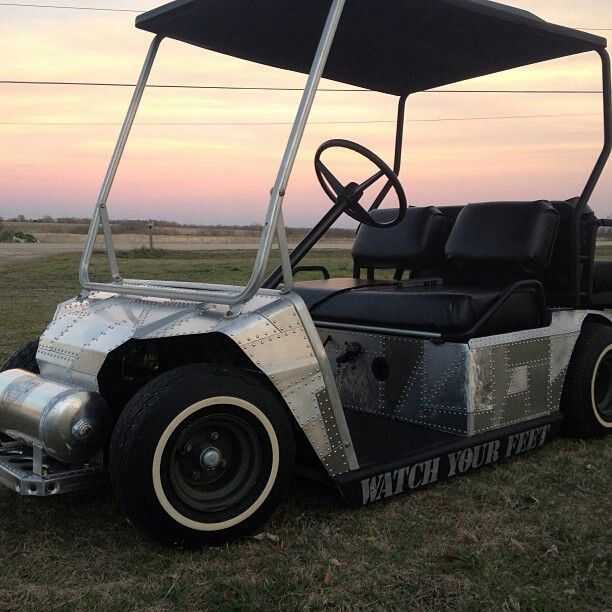 This Golf Cart Is Bagged Decked Out With Aluminum All Done By Ryan 254 630 0830