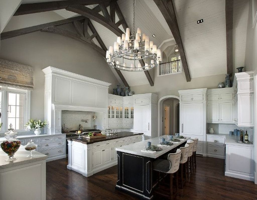 30 Awesome Kitchen Design Ideas With Exposed Ceiling ...