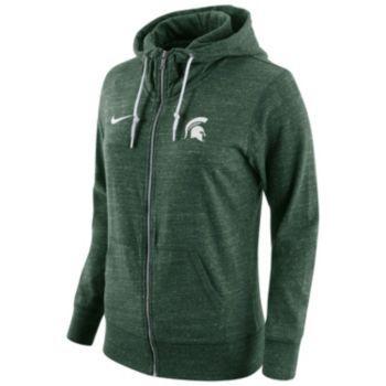 Women s Nike Michigan State Spartans Gym Vintage Fleece Hoodie ... 6c33d1de8