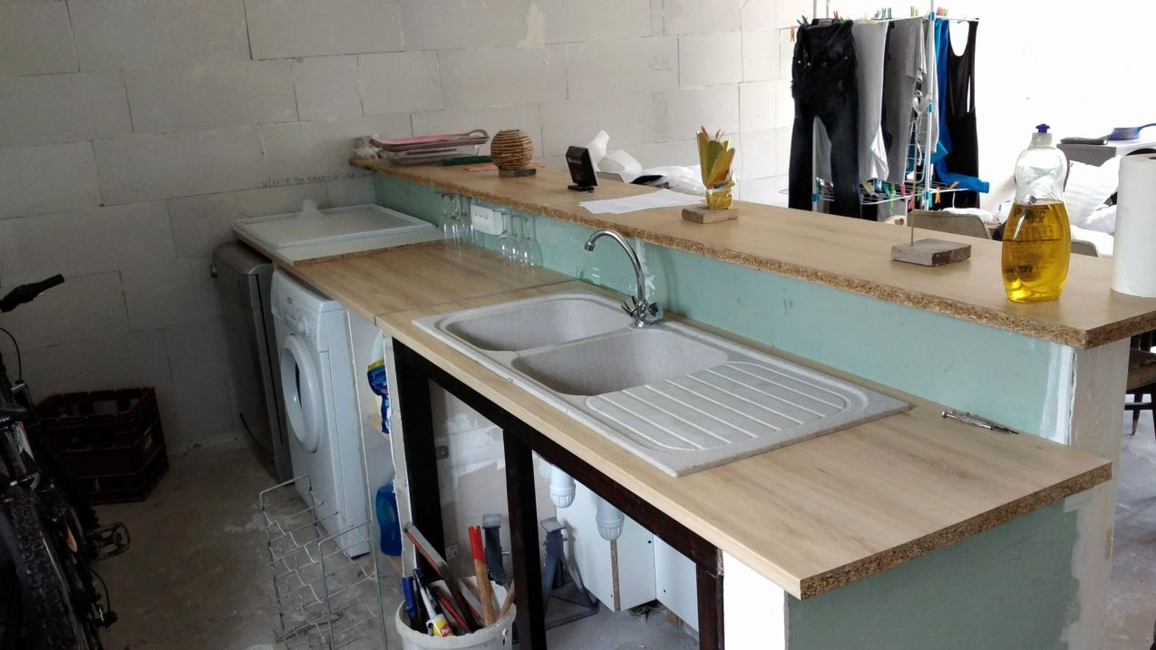 50 Comment Poser Un Plan De Travail Sans Meuble 2020 Furniture Home Decor Decor