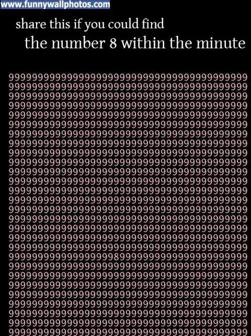 I did it in 5 seconds Mind tricks, Illusions