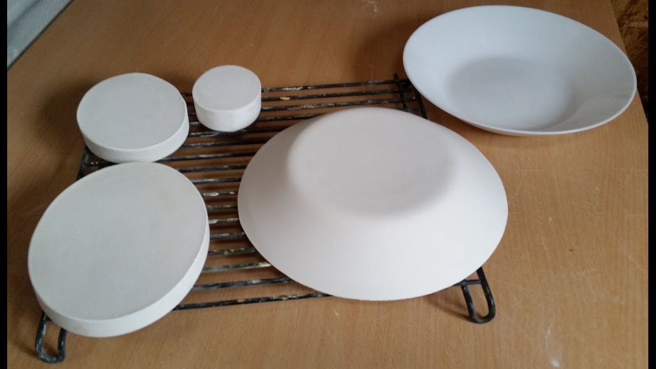 Plaster For Push Molds Youtube Pottery Molds Slab Pottery Ceramic Molds