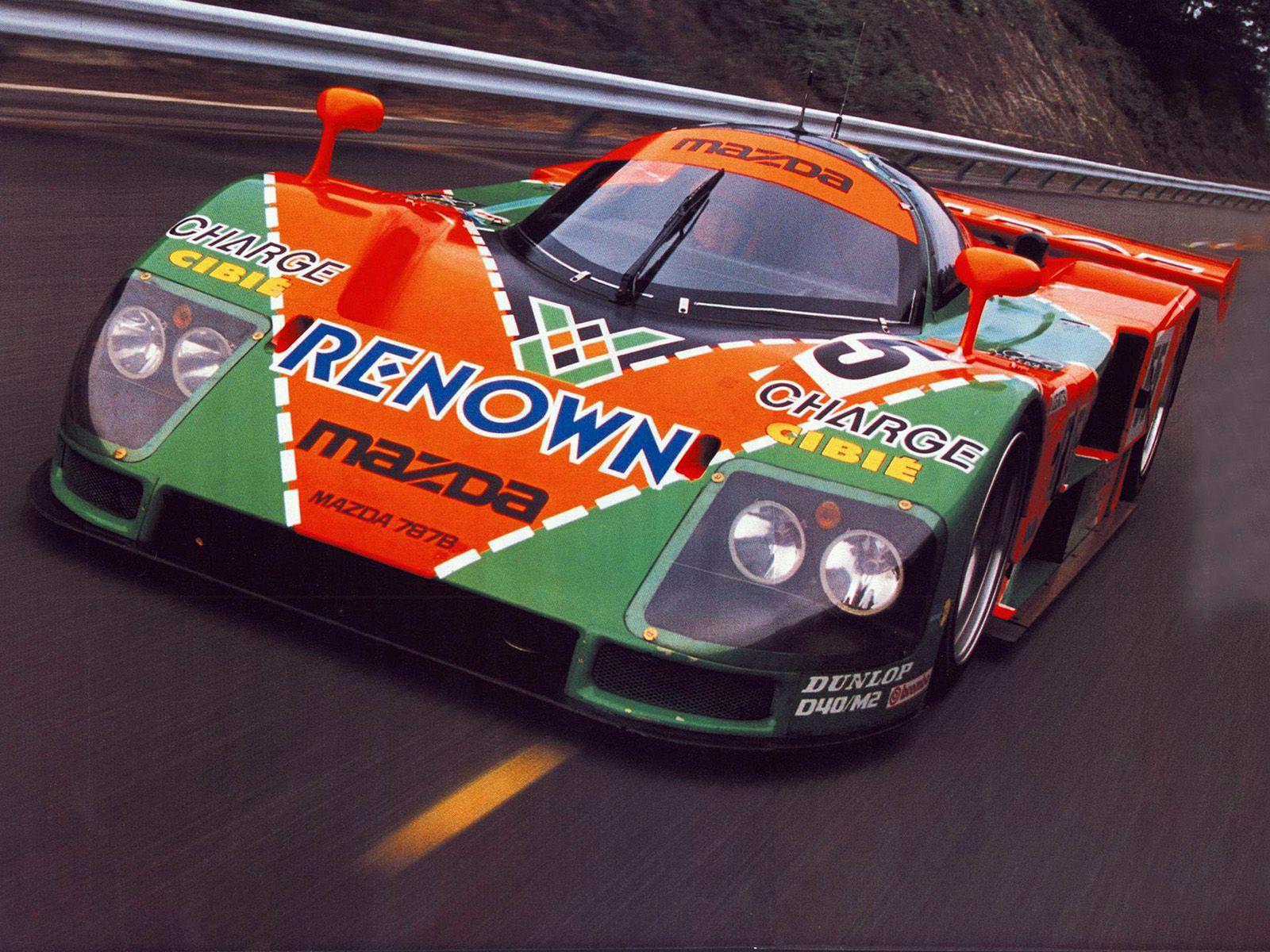 1991 Mazda 787b Le Mans Winner More