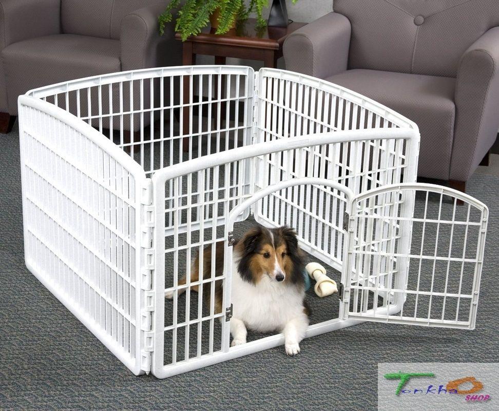 Iris Usa Playpens Indoor Outdoor Stall Plastic Dogs Puppies