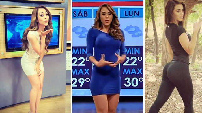 Yanet Garcia: Sexiest Weather Reporter Girl   Hot News Anchor in ...   Hottest weather girls, Mexican weather girl, Viral trend