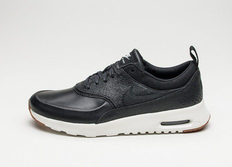 Nike Wmns Air Max Thea PRM (Black Black Sail Gum Med