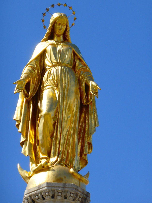Holy Mary Monument Zagreb Croatia Zagreb Croatia
