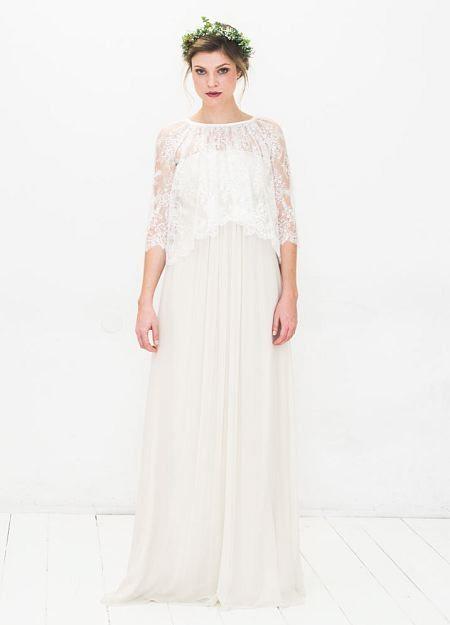 Elfenkleid, Hochzeitskleid, romantisch, aus Spitze, Brautkleid mit ...
