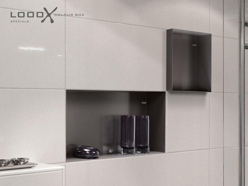 Looox colour box, inbouw nis voor douche, 15x30 zonder rand, soft ...