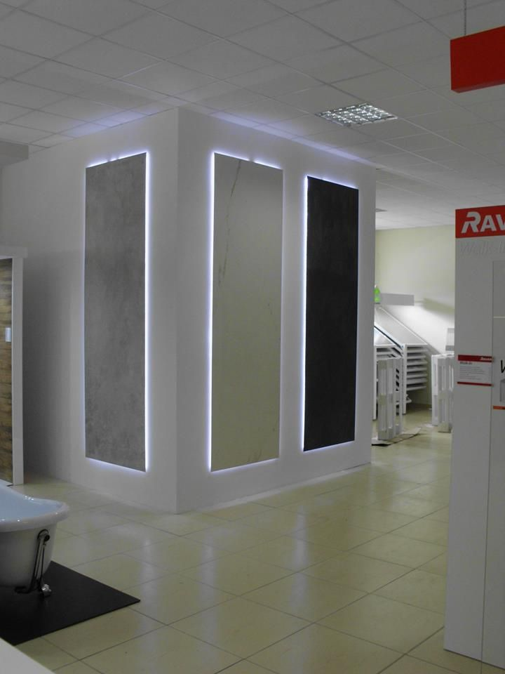 Great display of our novelties at the showroom of our customer ...