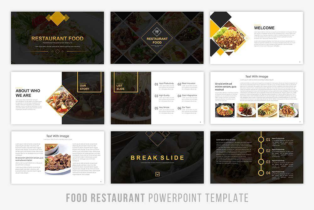 Food Presentation Powerpoint By Brandearth On Creativemarket