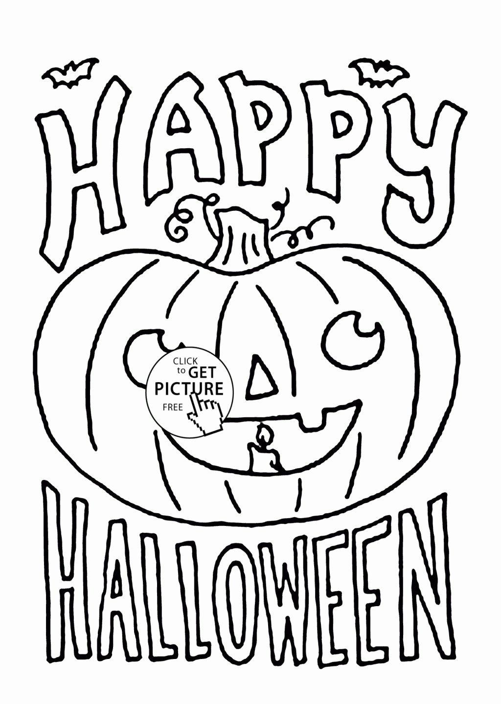 Halloween Coloring Sheets Pdf