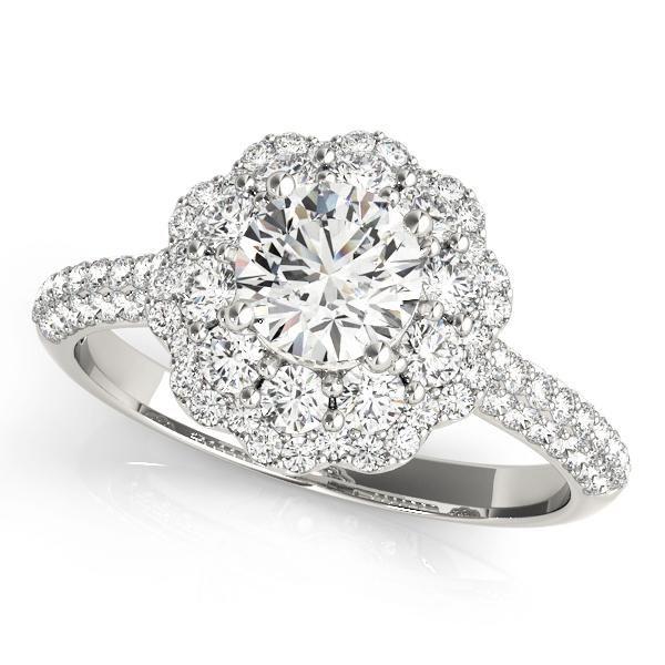 QUICK SHIPPING Diamond Weight: 1.12ctw Diamond Clarity: SI1-SI2 Diamond Color: G-H