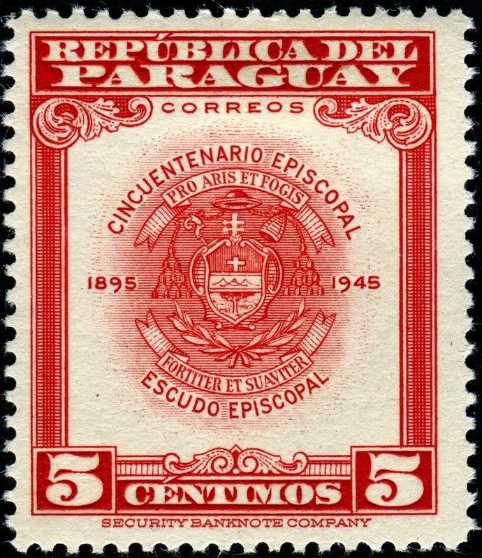 1948 Paraguay Archbishop Coat