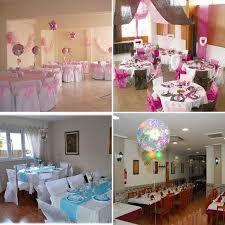 Resultado de imagen para decoracion de salones para primera comunion festivos y - Como decorar un salon para bautizo ...