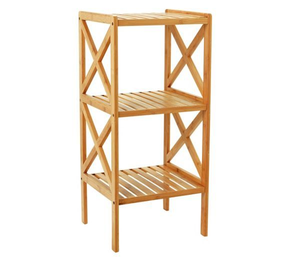 buy collection two tier bathroom shelving unit bamboo at argoscouk