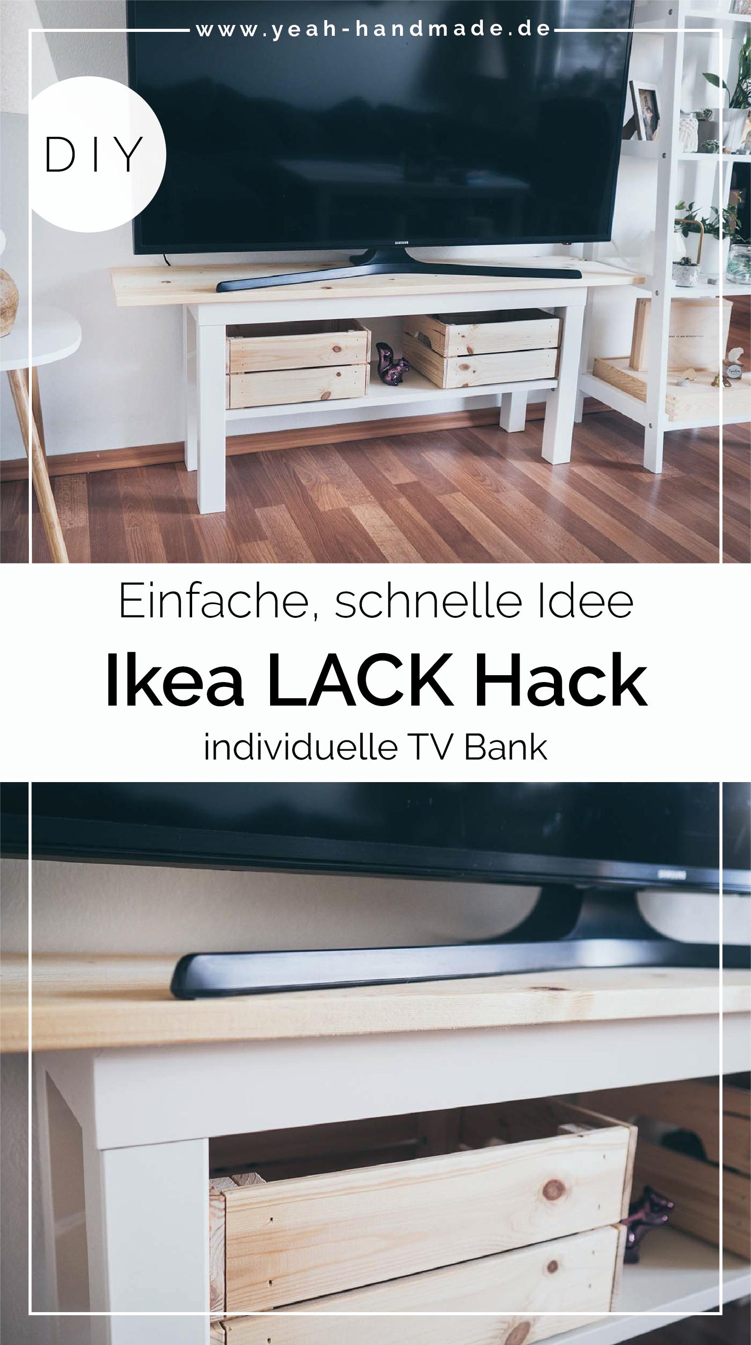 DIY Ikea LACK Hack TV Bank | Ikea diy, Ikea, Ikea mangel