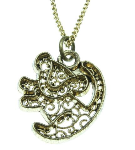 Disney The Lion King Simba Filigree Necklace