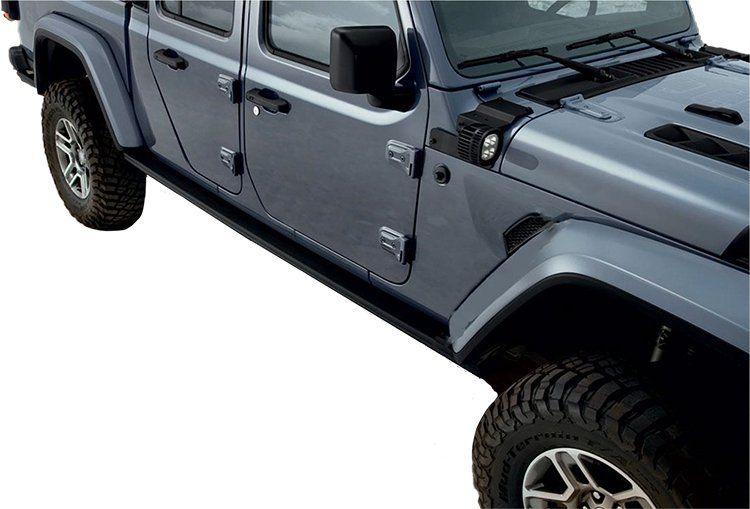 Mopar 82215606 Performance Rock Rails For 2020 Jeep Gladiator Jt Jeep Gladiator Mopar Gladiator
