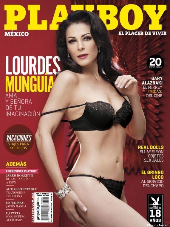 Lourdes Mungua se desnuda en Playboy  Lugares para