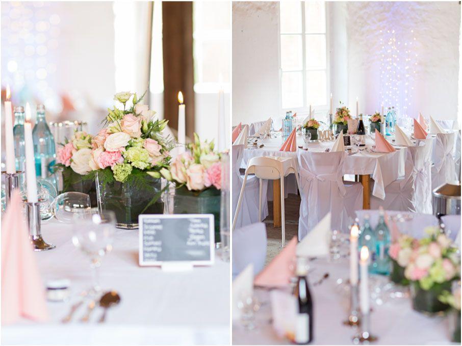 Tischdeko Kartause Grnau Hasloch Blumendeko Hochzeit