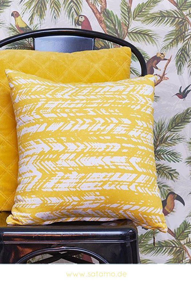 Entdecke das moderne Kissen FALCO in sommerlichen Farben Pinterest