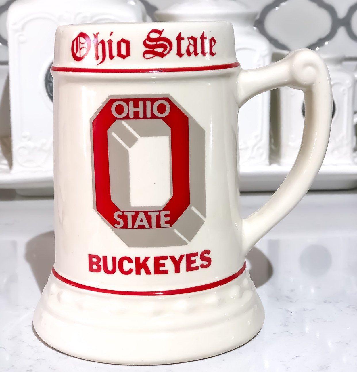 1981 Ohio State Buckeyes Beer Mug #ohiostatebuckeyes