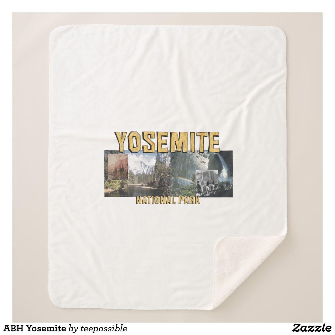 Abh Yosemite Sherpa Blanket Zazzle Com Sherpa Blanket Luxury Blanket Yosemite