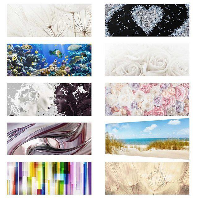 Bilderwelten Glasbild Panorama Quer Top 10 Glasbilder Online