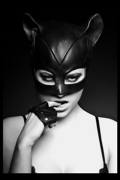 mask #gothic #catwoman Catwoman Pinterest Gothic, Headgear - k chen bei dom ne