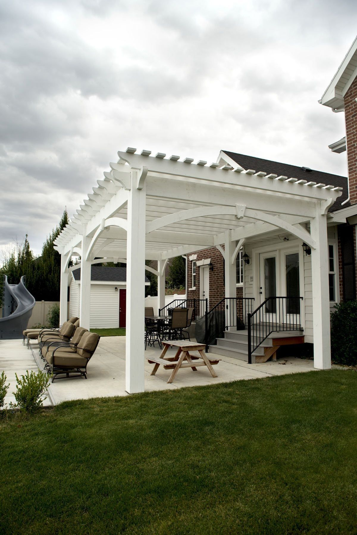 Winning Wow White Poolside Pergola Pinterest Outdoor Pergola Pergola Pergola Patio