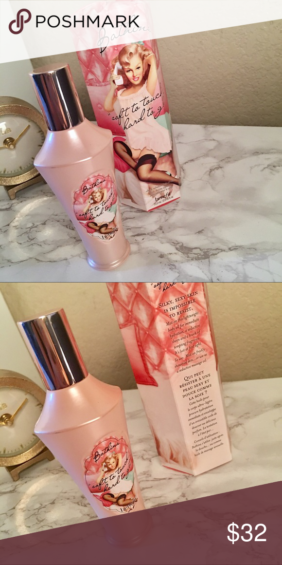 benefit Bathina Silky & Seductive Body Oil Mist 2.5 fl oz NEVER USED Other