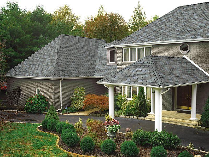 Mystic Slate #gaf #designer #roof #shingles #home | General Roofing Systems