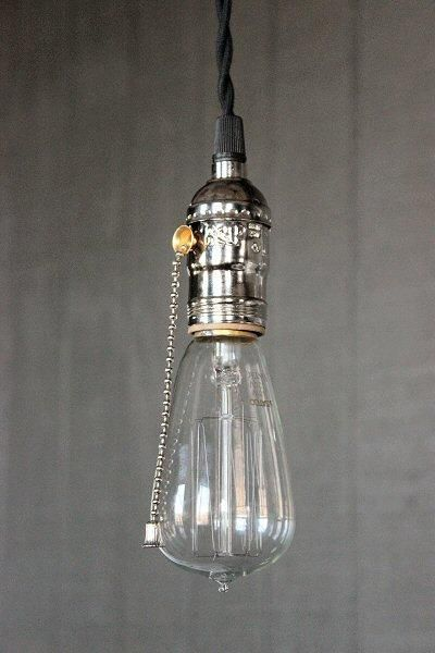 Just Custom Lighting Listings View Industrial Bare Bulb Pendant