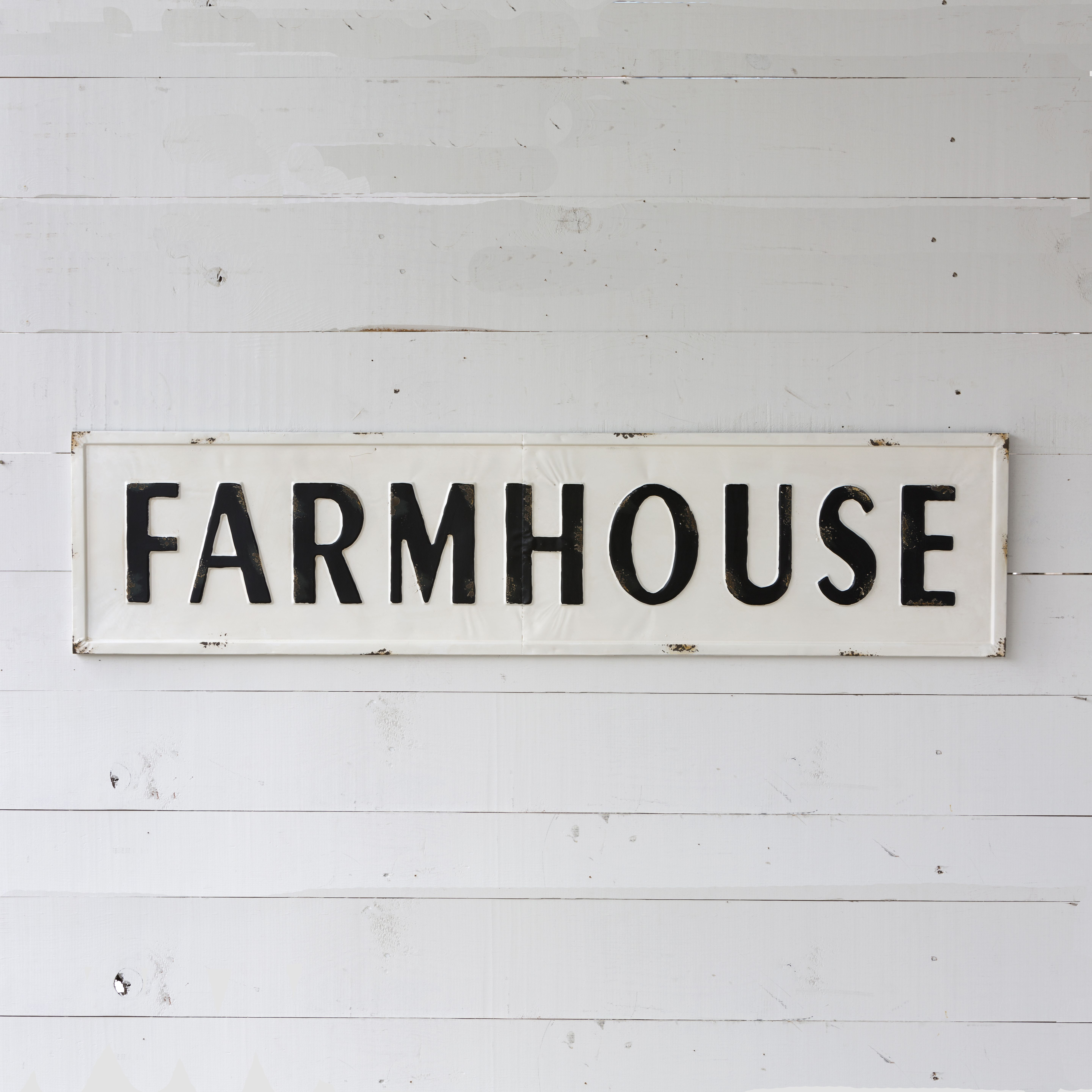 Extra Large Metal Farmhouse Sign Farmhouse signs