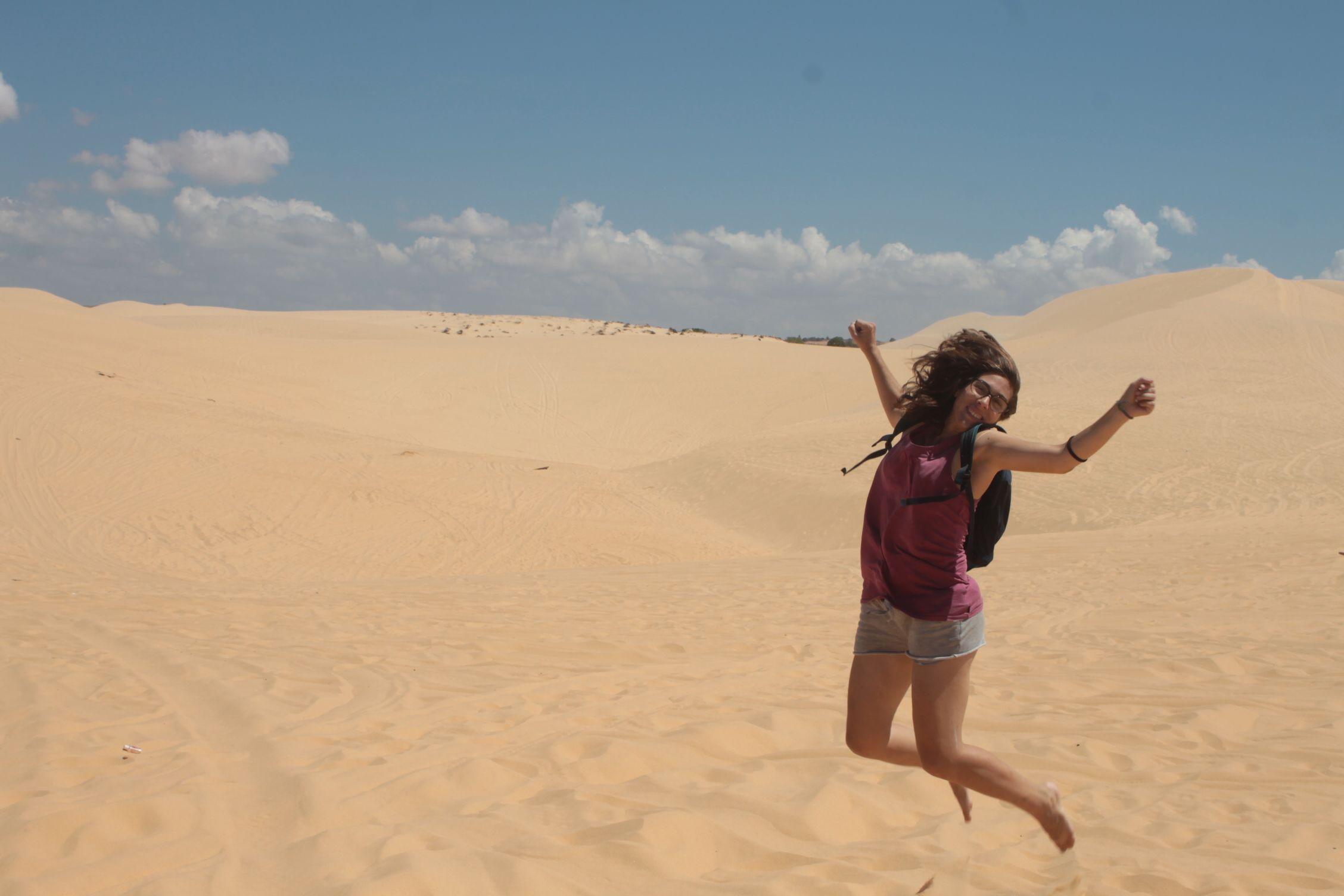 Las dunas blancas de Mui Ne