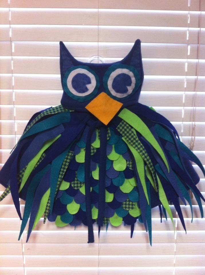 how to make an owl costume for a child