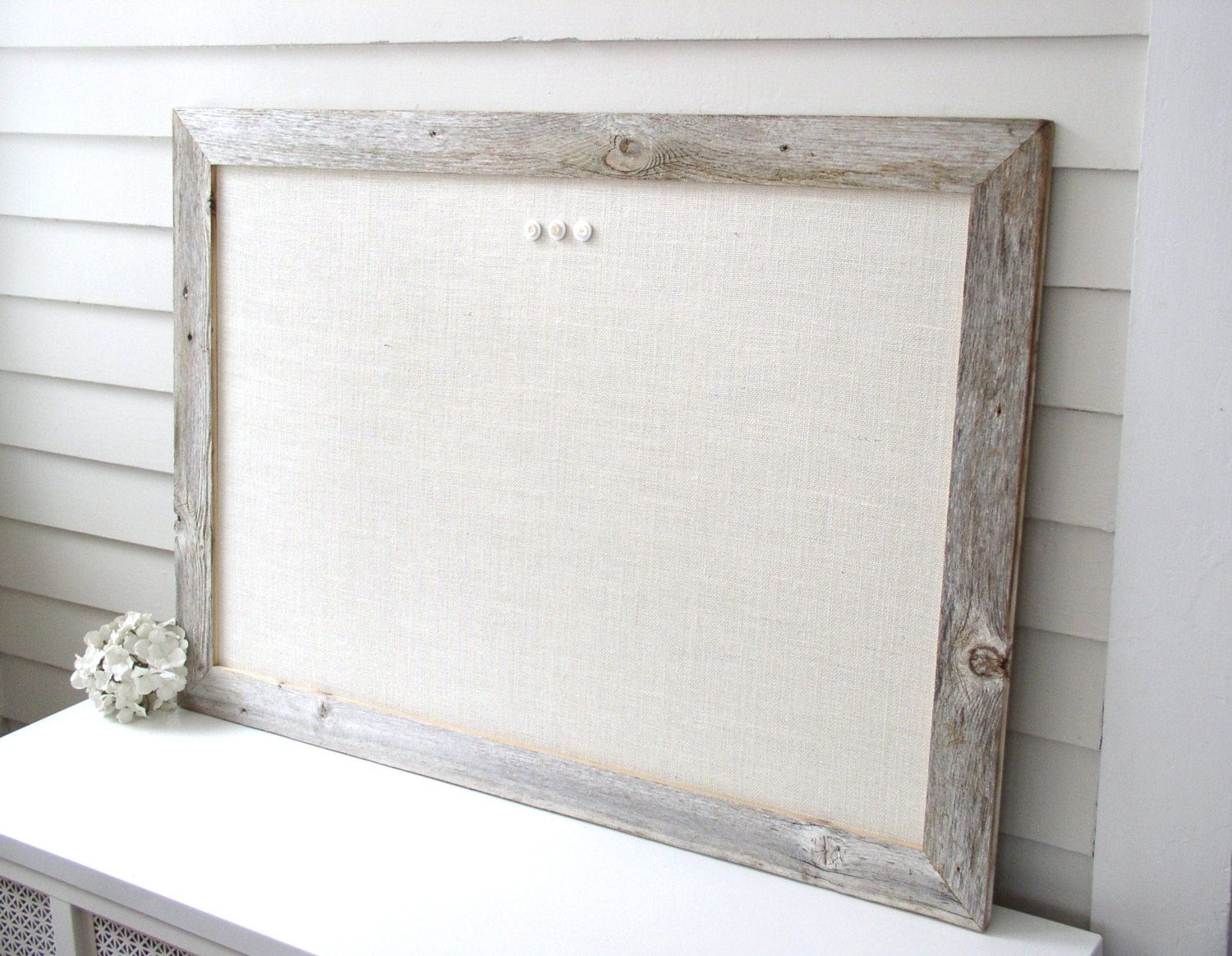 linen bulletin board - for Q and Nayah