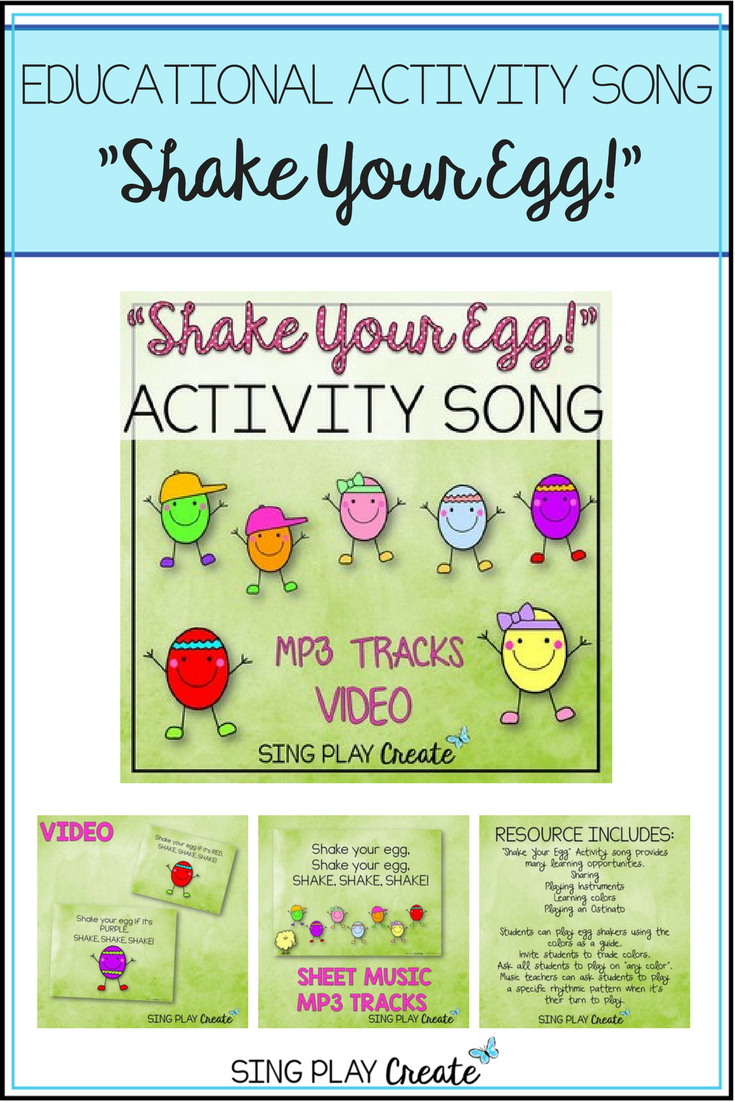 Educational Activity Song: \
