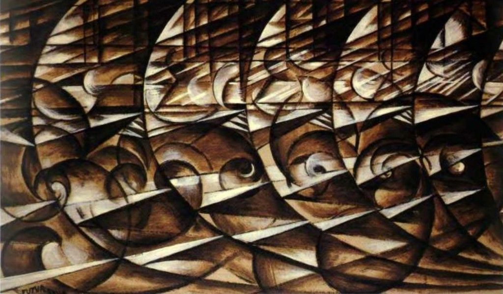Giacomo Balla - Abstract Speed - (Italian Futurism ...