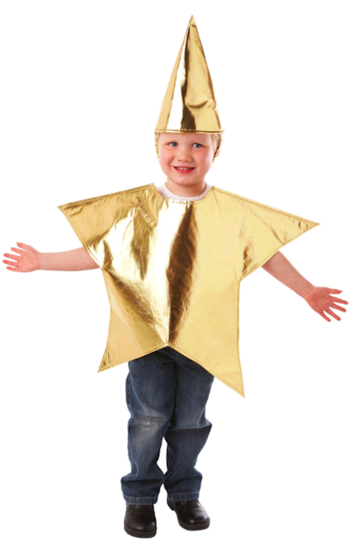 Child Christmas Star Costume  Star Fancy Dress, Star -3570
