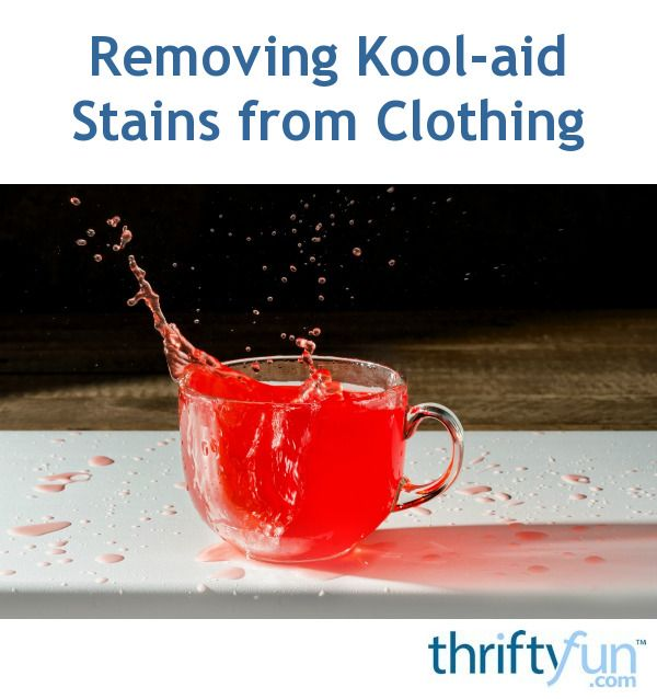 Removing Kool Aid Stains From Clothing Cleaning Kool Aid