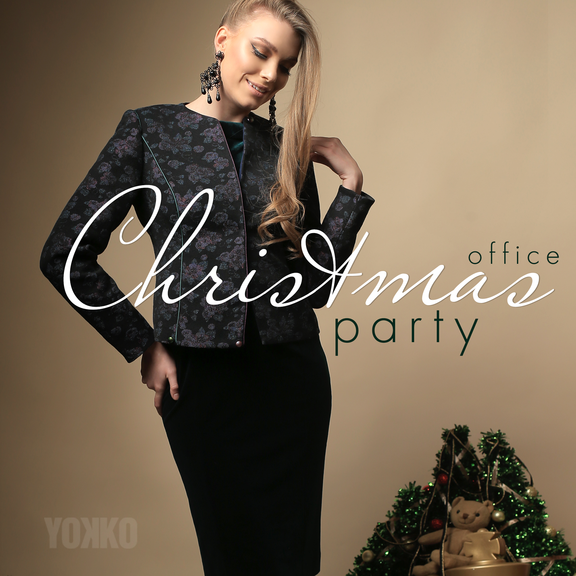 Office Christmas Party #yokko #fashion #christmascollection