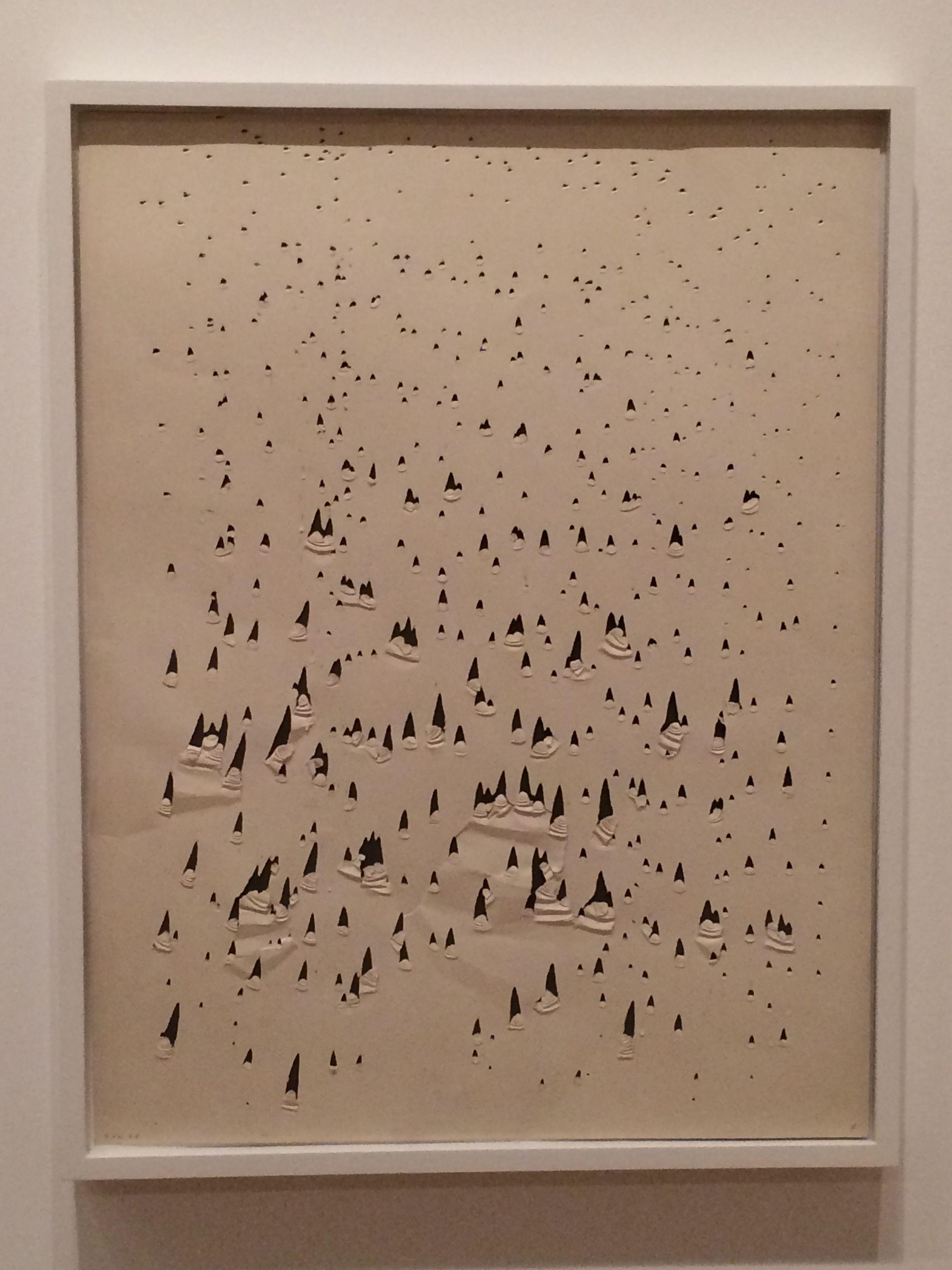 Oskar Holweck, Sankt Ingbert (DE), 1958, ZERO foundation Dusseldorf, ZERO exhibition Stedelijk Museum Amsterdam, oktober 2015