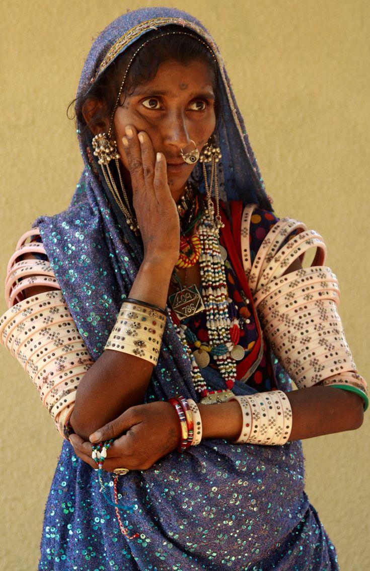 India gujarat india woman and incredible india
