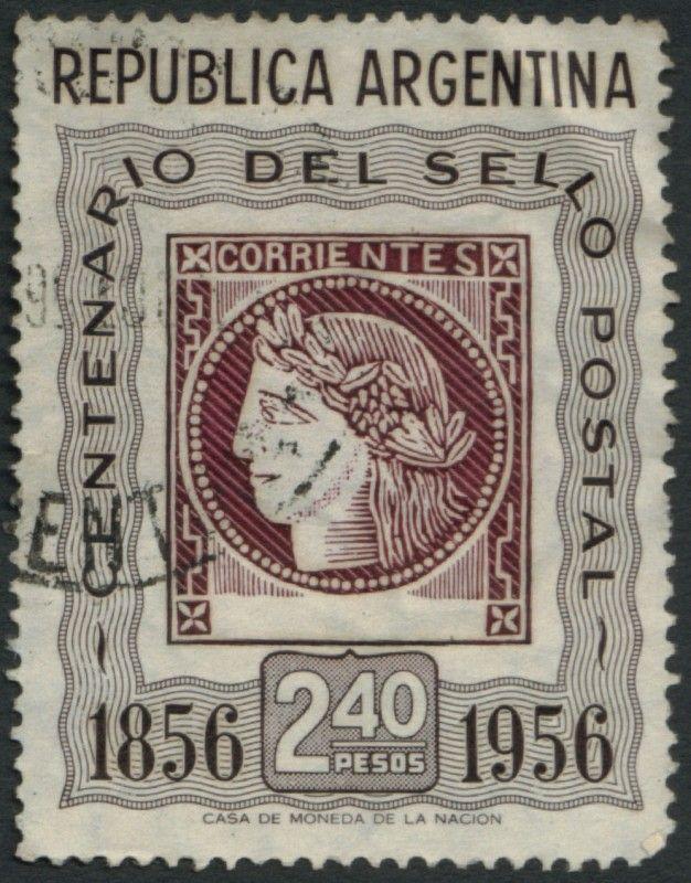 Centenario Del Sello Postal 2 40 Pesos De Argentina America Sellos Postales Sellos Estampilla Postal